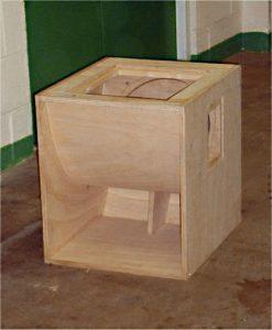 Como hacer cajas para parlantes de 15 pulgadas
