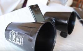 como hacer bafles caseros para amplificar el sonido del celular