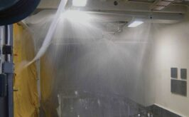 Consejos sobre rociadores para cortinas de agua