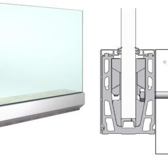 Productos de barandilla de vidrio